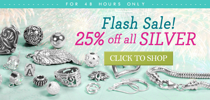 25% Off All Silver Products