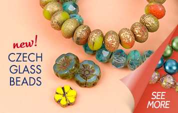 New Czech Glass Beads