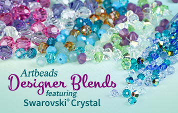 Artbeads Designer Blends ft. Swarovski Crystals