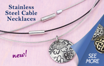 New Stainless Cable Necklaces