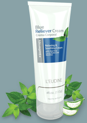 L'EUDINE<BR>BLUE RELIEVER<br>CREAM