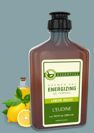 L'EUDINE<br>energizing SHOWER<br>GEL LEMON GRASS
