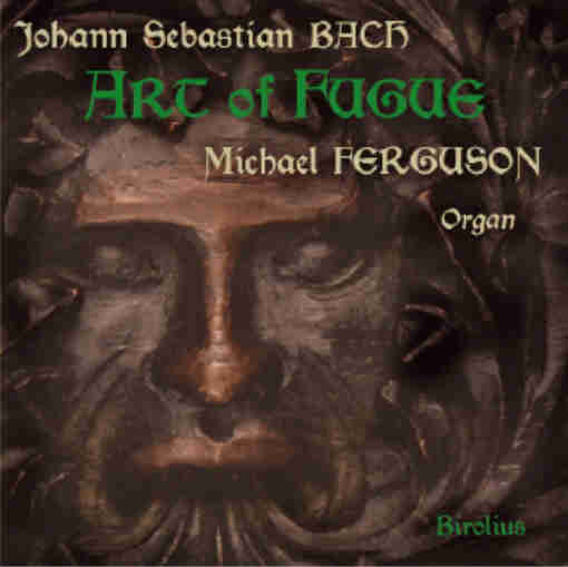 Cover of the Art of Fugue CD