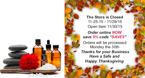 Thanksgiving sale and hours.