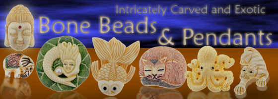 Shop today at Brightlings Beads for a great selection of Horn and Bone Beads huge selection of gemstones and styles!