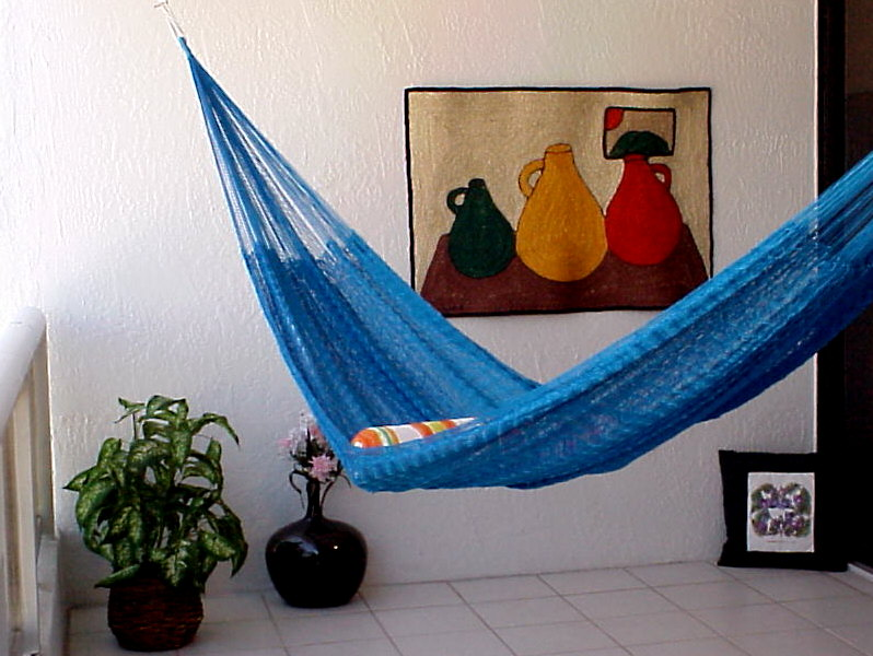 Bright Blue - Mayan Hammock