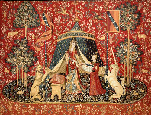 Lady And The Unicorn Tapestry Wall Hangings Tapestries