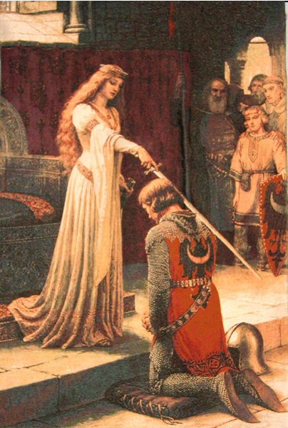 ACCOLADE - One Of The Famous Medieval Pictures