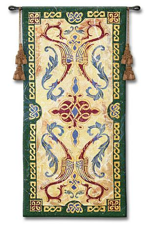 Celtic Design II Celtic Tapestry Wall Hanging, 25in X 53in