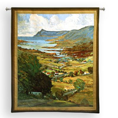 Color Of Ireland European Landscape Wall Tapestry - Countryside Picture, 53in X 62in
