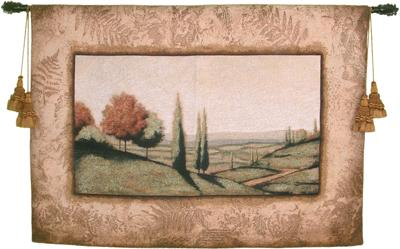 Cypress Vista I Landscape Wall Tapestry, 53in X 40in