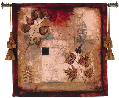 Ephemeral Creation Contemporary Tapestry Fine Art Picture, 35in X 35in