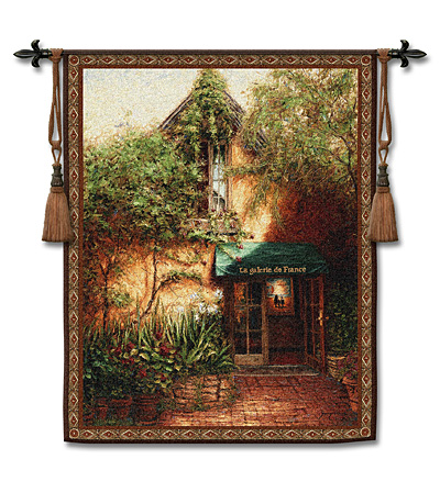 Galerie De France Tapestry Wall Hanging, 42in X 53in