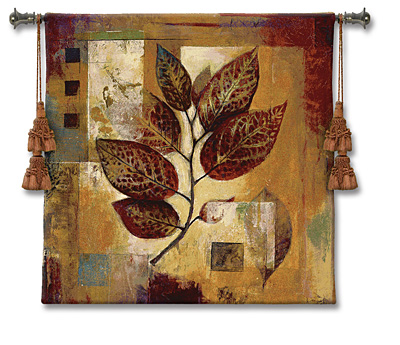 Modernist Autumn Dougall Modern Tapestry Fine Art Picture, 53in X 53in