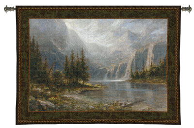 Mountain Heights Tapestry Wall Hanging, 53in X 38in