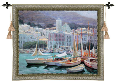 Setting Sail Tapestry Wall Hanging, 53in X 44in