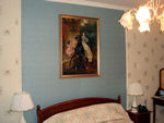 Lady Riding Horse Tapestry  In Classic Interior Style
