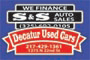car dealer trunk decals