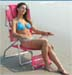 Durable Beach Chairs & Beach Chaise Lounge Chairs - Perfect For The Day At The Beach - Sun Tanning Loungers