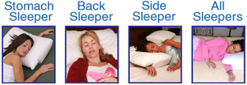 Better Sleep Pillow for all sleep styles