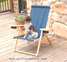 Blue Ridge Folding Wood Chairs & Outdoor Furniture Comfort