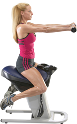 Panasonic Core Muscle Trainer Is Like Riding A Horse - Enjoy Your Workout To Music Or While Watching TV