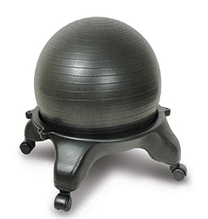 Exercise Tip: Exercise ball office chair - Lifehacker, tips and