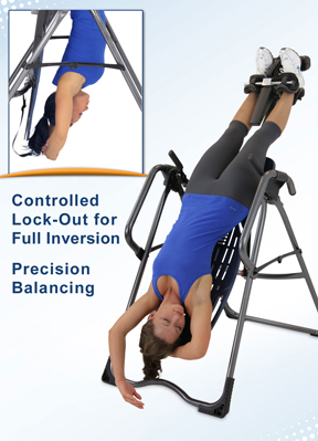 EP-960 Inversion Table features controlled lock-out - Precision Balancing