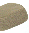 Beige Fabric Pattern For Deluxe Kneeling Chair - Jobri Memory Foam Pneumatic Lift Swivel Kneeling Chairs With Back F1446