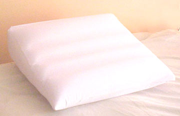 Inflatable Bed Wedge Pillow - Elevating Cushion For Sleep Comfort, Relieves Acid Reflux, Use As Floor Cushion Or Leg Wedge
