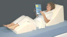 Jobri Bed Wedge System - Back Wedge & Leg Wedge System Supports Your Spine and Elevates Your Legs For Perfect Orthopedic Comfort