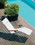 Zero Gravity Lounger - Lafuma Hybrid Zero Gravity Chair Perfect For Beach, Patio or Pool Side Lounging.