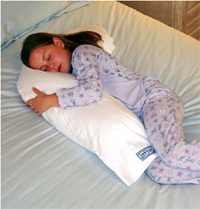 Snoozer Jr. Body Pillow - Perfect for Children between 3 and 12 Year Old