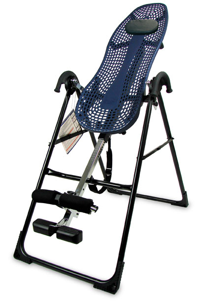 Teeter Hang Ups EP-550 Inversion Table With Flex Back Technolgy - Back Pain Relief & Back Fitness Exercise Machine