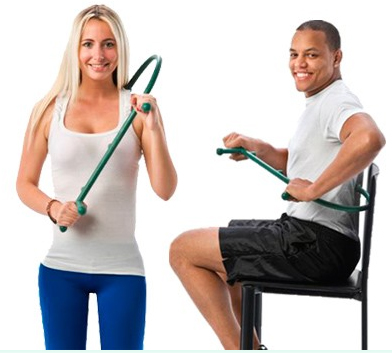 Thercane Massage Tool - Designed to apply deep pressure massage to hard to reach parts of your body - pain relief!
