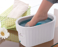 Therabath Professional Thermotherapy Paraffin Bath - For Foot Wax Therapy