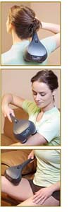 Thumper Sport Hand Held Percussion Massager Stimulates Blood Flow, Soothes Aching Muscles And More