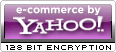 E-Commerce by Yahoo! 128 Bit Encryption