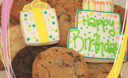 Birthday Cookies Delivery