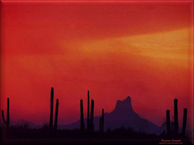 Picacho Peak Tucson Arizona Wallpaper