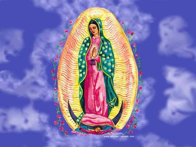 Virgin of Guadalupe Wallpaper 640 x 480