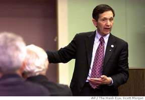 Dennis Kucinich: Your Vegan Holistic President