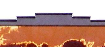 Detail of Southwestern matt cut