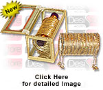'Bangles Kashish Dull Gold