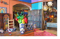 Mexican potttery and decor Tucson