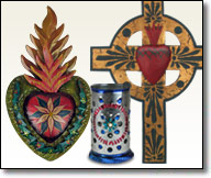 Mexican Folk Art Decorative Items