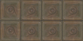 Mexican embossed tin ceiling tiles