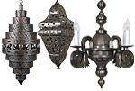 Sconces Southwest Style Ceramic - Interior Design Company