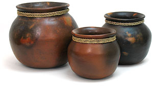 Handcrafted Clay Pots, Vases and Vessels