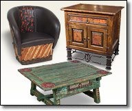 Rustic Mexican Furniture - Pine - Mesquite - Equipale - Old Wood